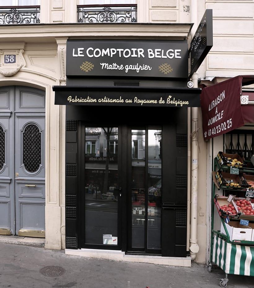 Le Comptoir Belge, Shop 1