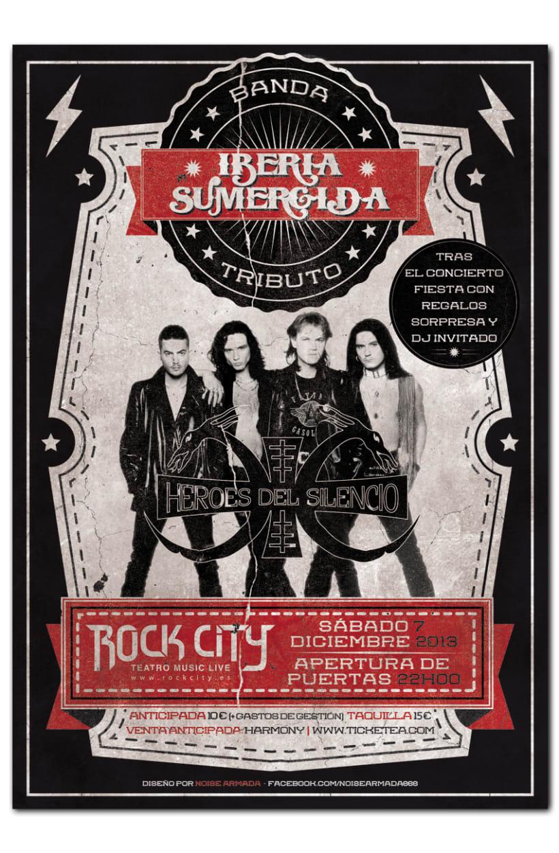 IBERIA SUMERGIDA · TRIBUTO HEROES DEL SILENCIO | poster 0