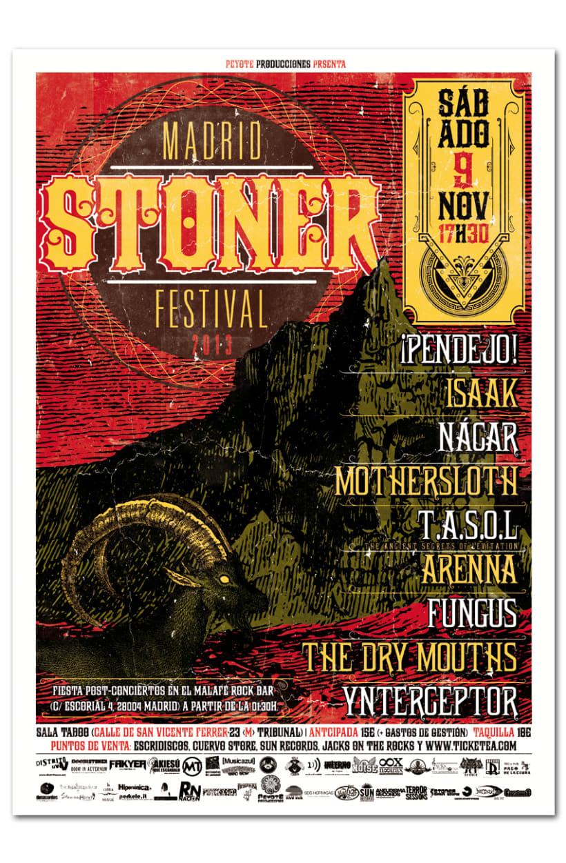 MADRID STONER FEST 2013 | poster -1