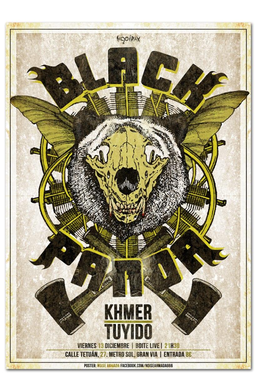 BLACK PANDA + KHMER + TUYIDO | poster -1