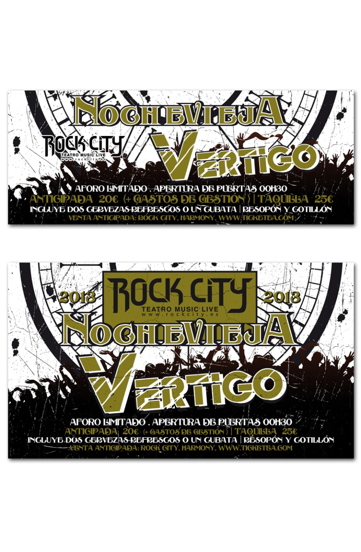 NOCHEVIEJA ROCK CITY | poster & plus 2