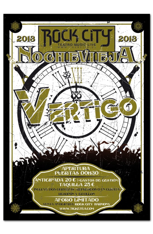 NOCHEVIEJA ROCK CITY | poster & plus 0