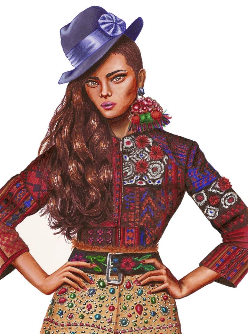 Ilustraciones de Moda 3