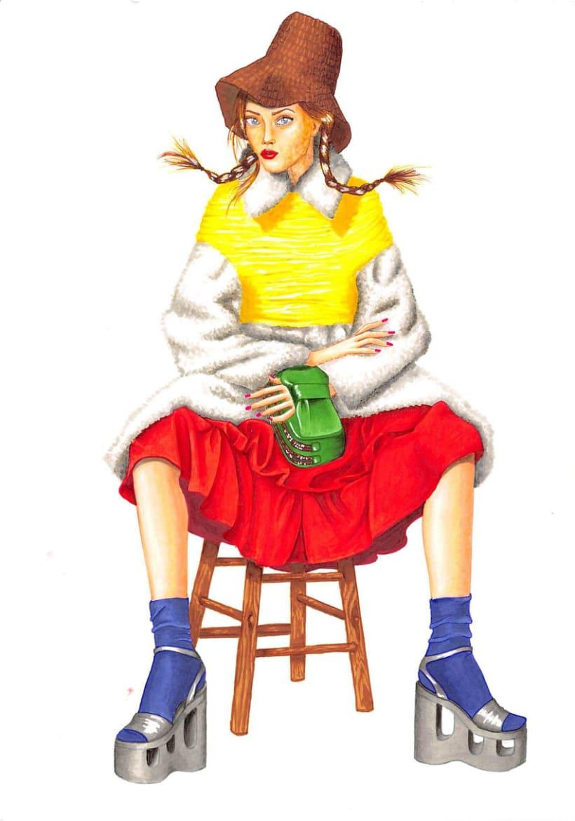 Ilustraciones de Moda 8
