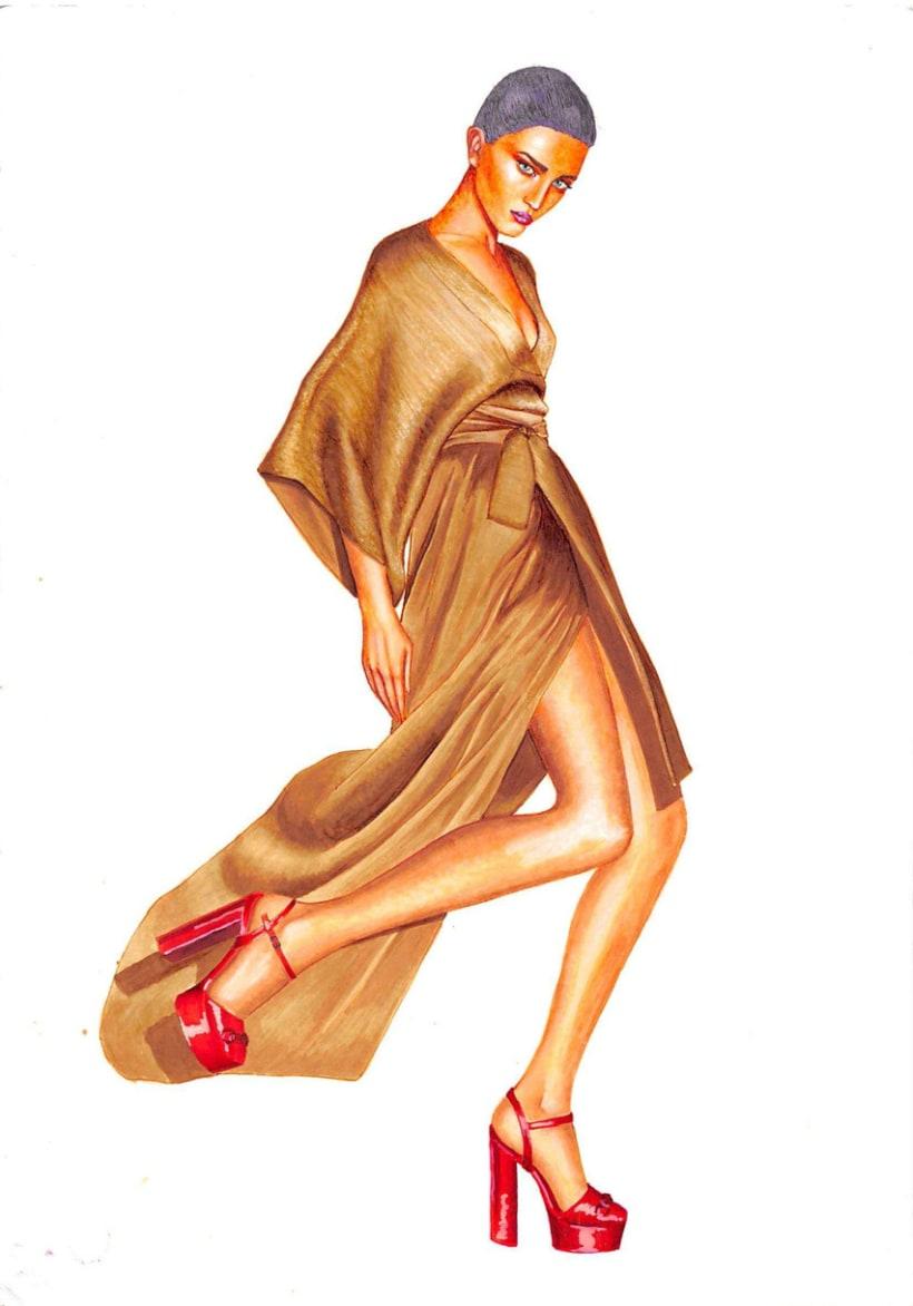 Ilustraciones de Moda 5