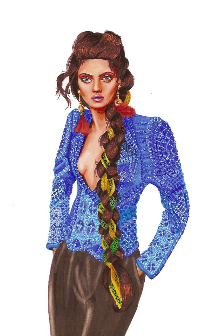 Ilustraciones de Moda 4