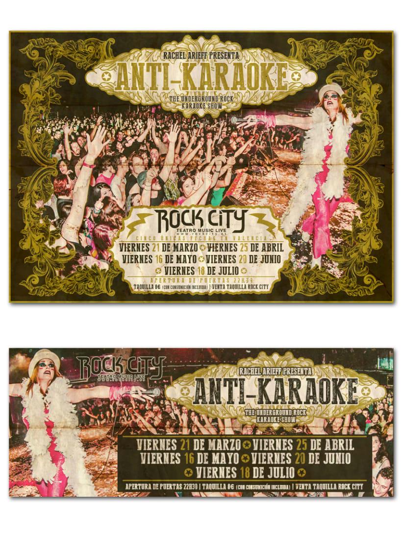 RACHEL ARIEFF ANTI-KARAOKE | poster -1