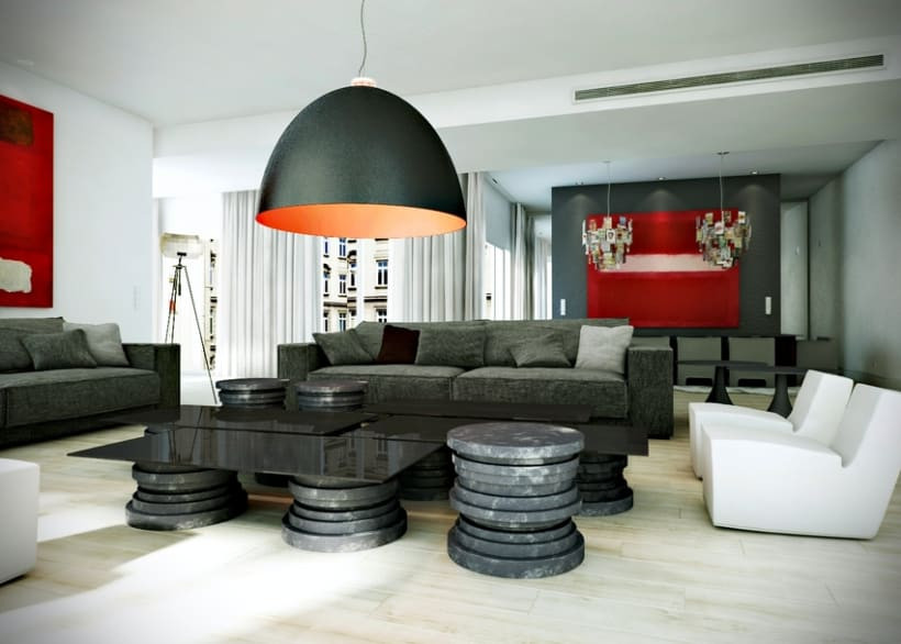 Apartment in Paris (3D Interior) -1