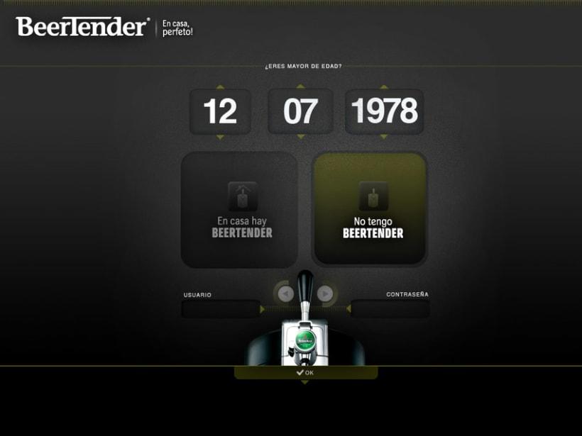 HEINEKEN // BEERTENDER  0