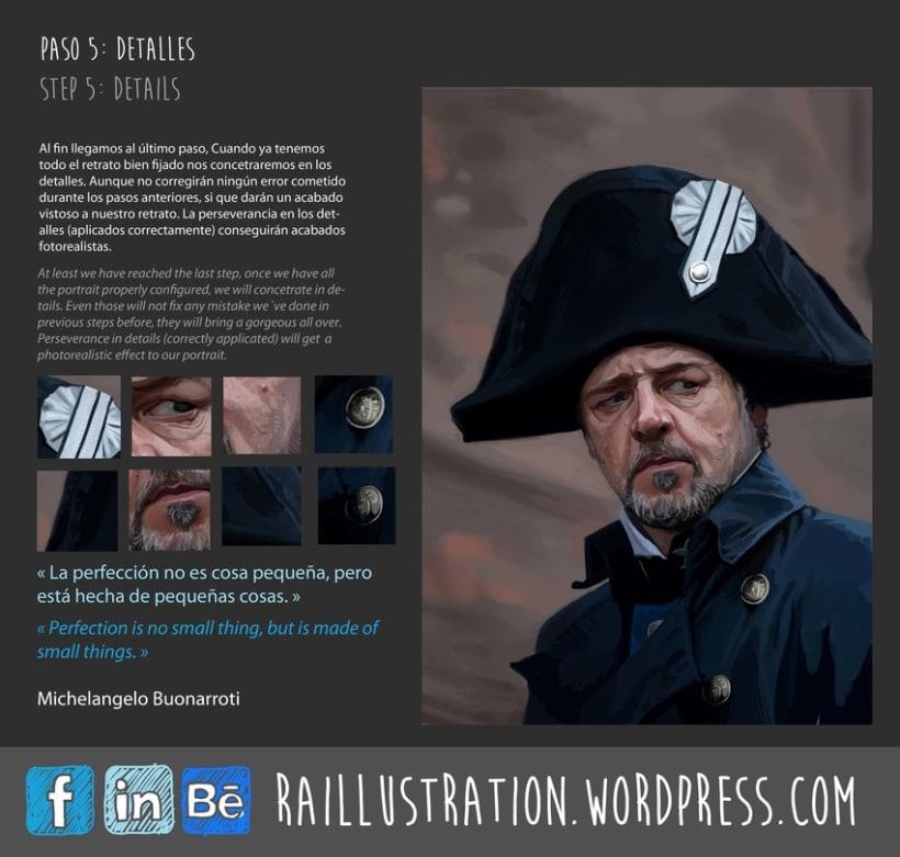 TUTORIAL: Cómo hacer un retrato de Russel Crowe 5
