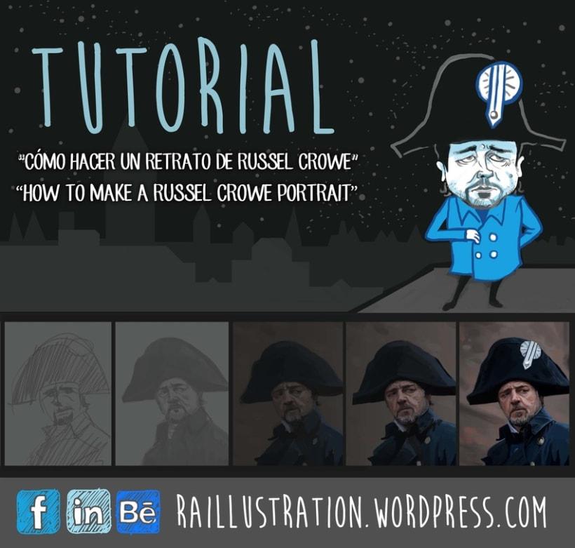 TUTORIAL: Cómo hacer un retrato de Russel Crowe 0