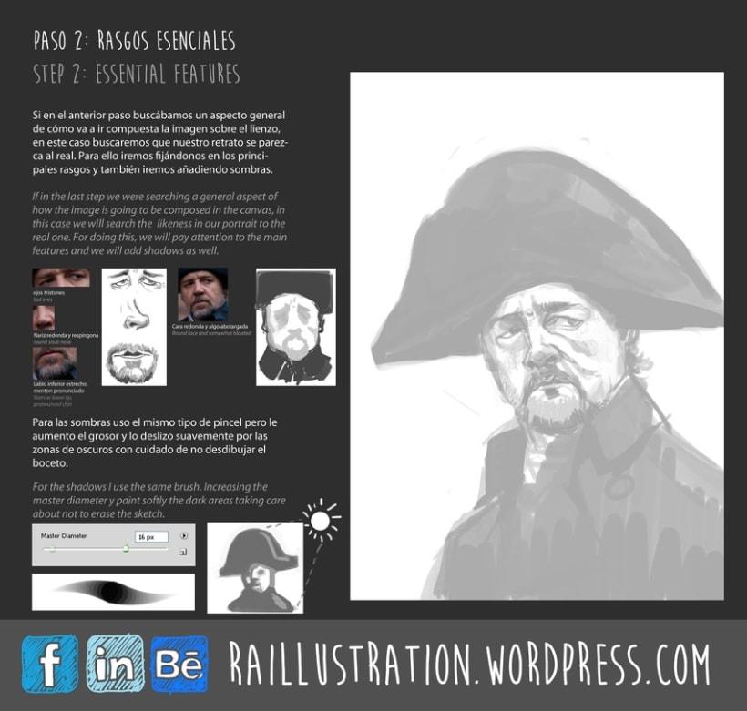TUTORIAL: Cómo hacer un retrato de Russel Crowe 2