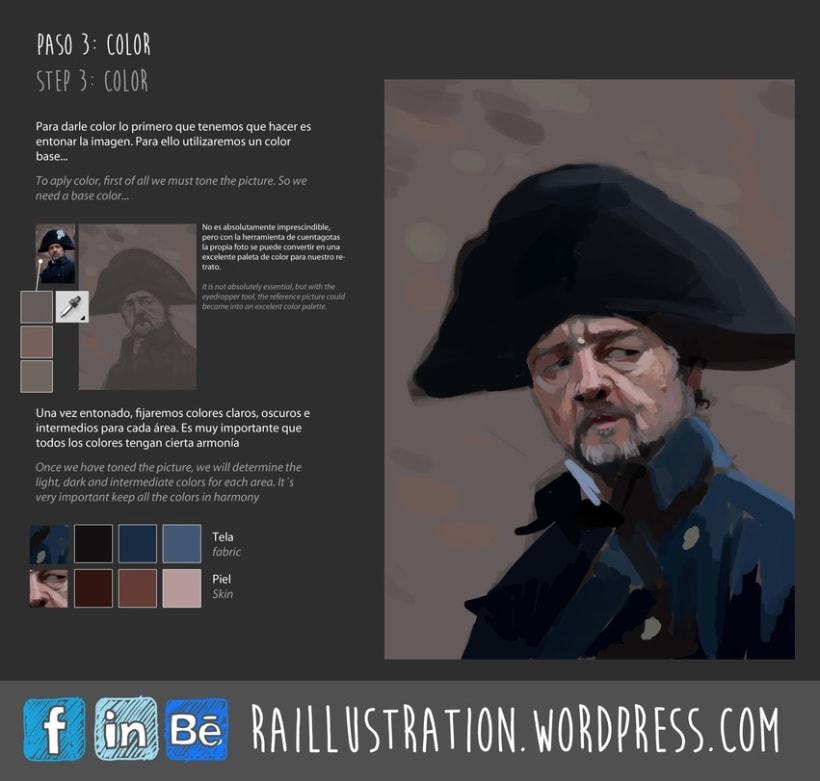 TUTORIAL: Cómo hacer un retrato de Russel Crowe 3