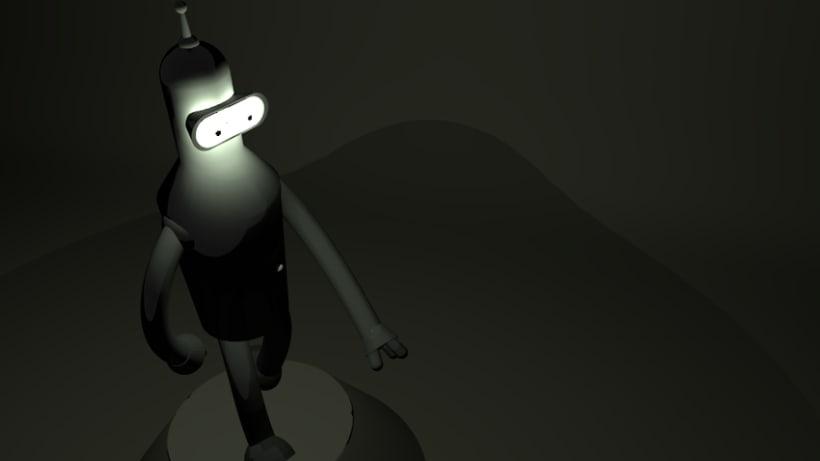 Modelado Bender 3d 2