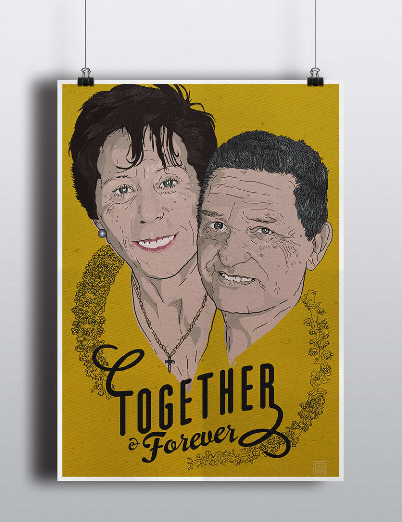 Together & Forever / vector 3
