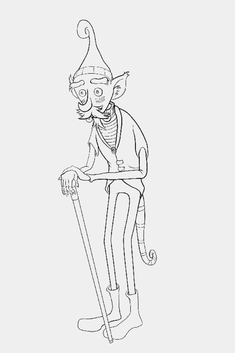 Viejo elfo (estudio de luz) 2