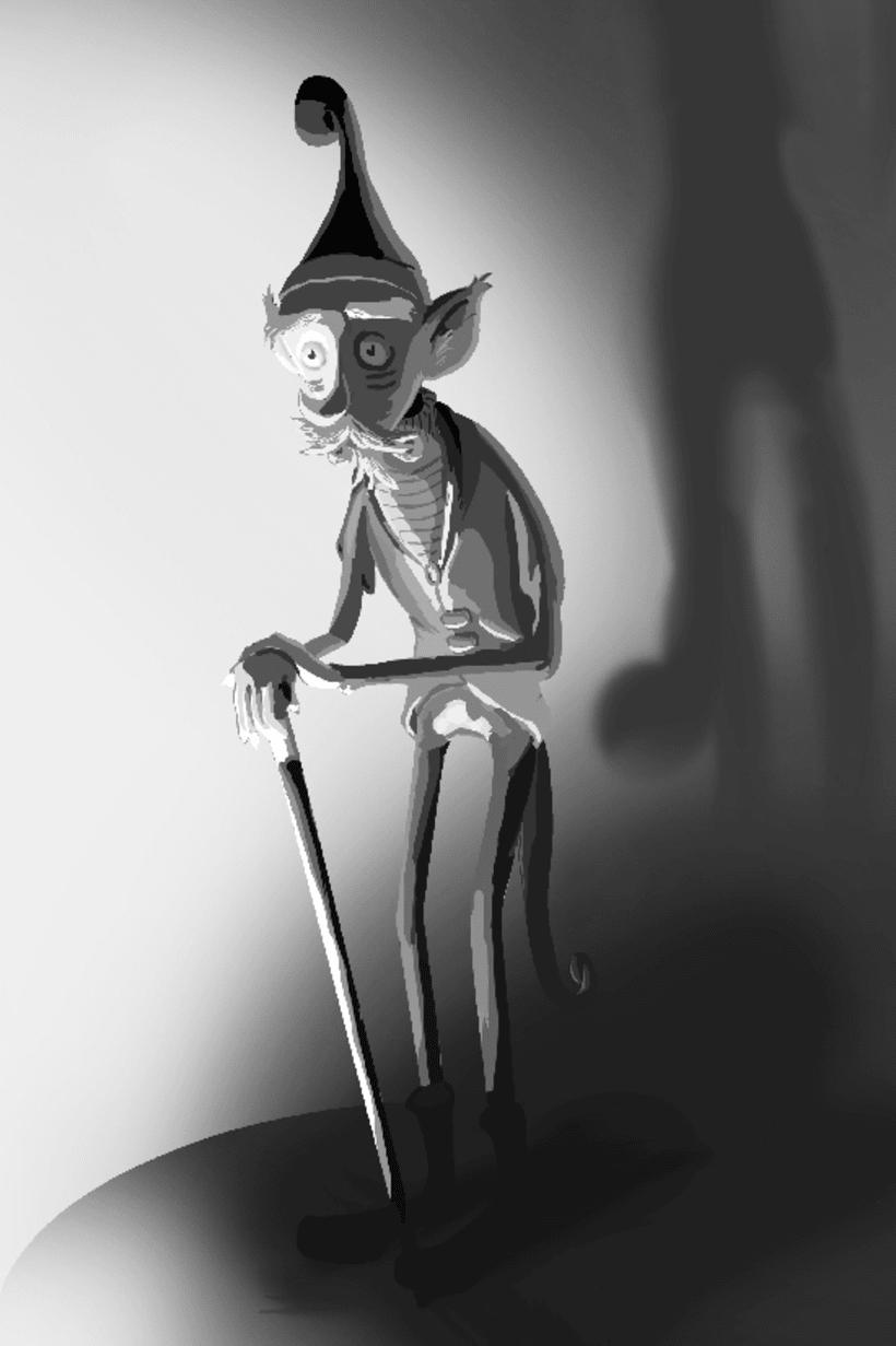 Viejo elfo (estudio de luz) 3