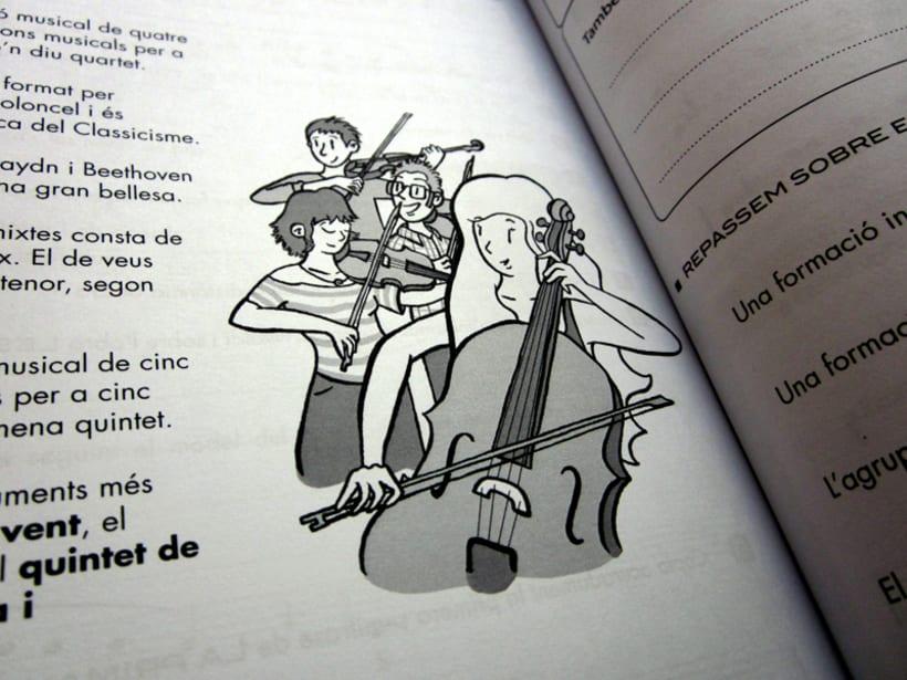 Libro escolar de música - Conservatori del Liceu de Barcelona 4