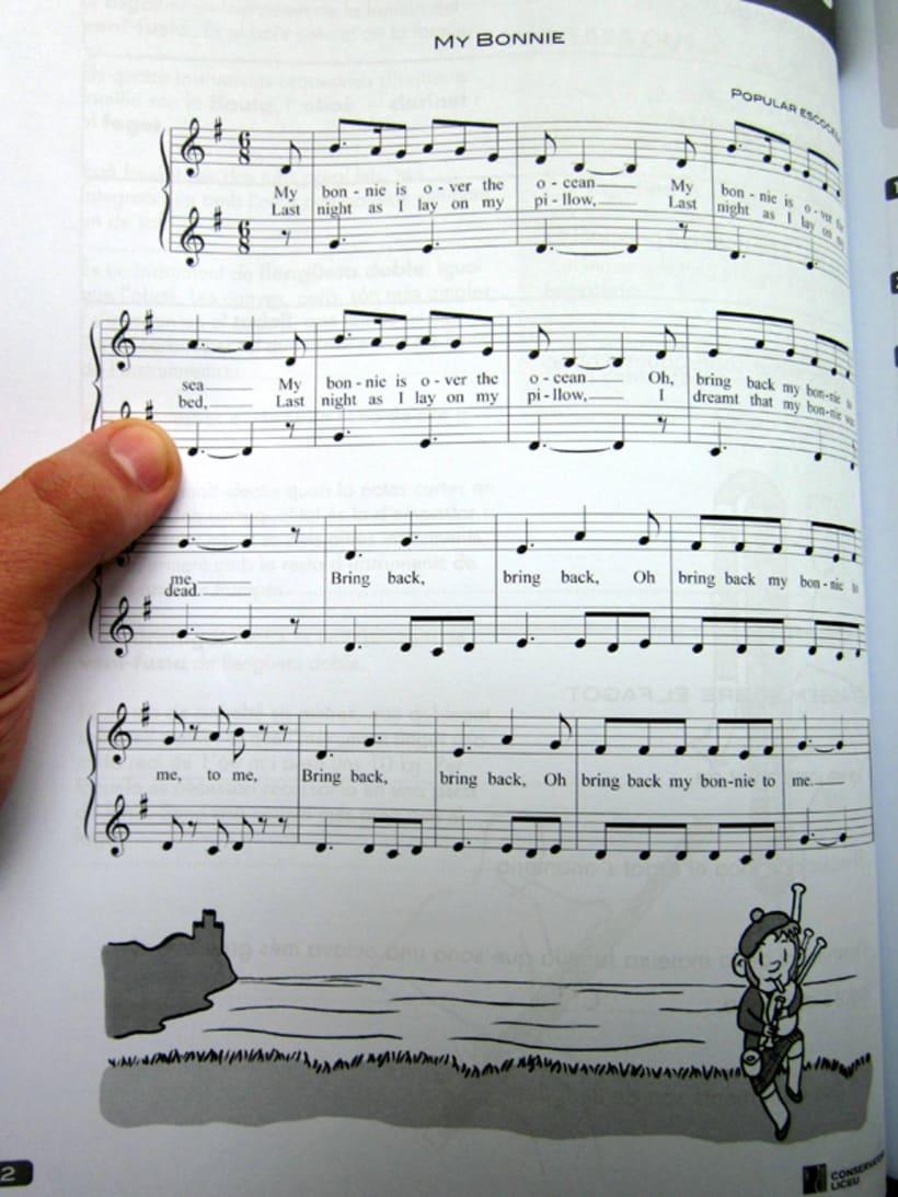 Libro escolar de música - Conservatori del Liceu de Barcelona 2