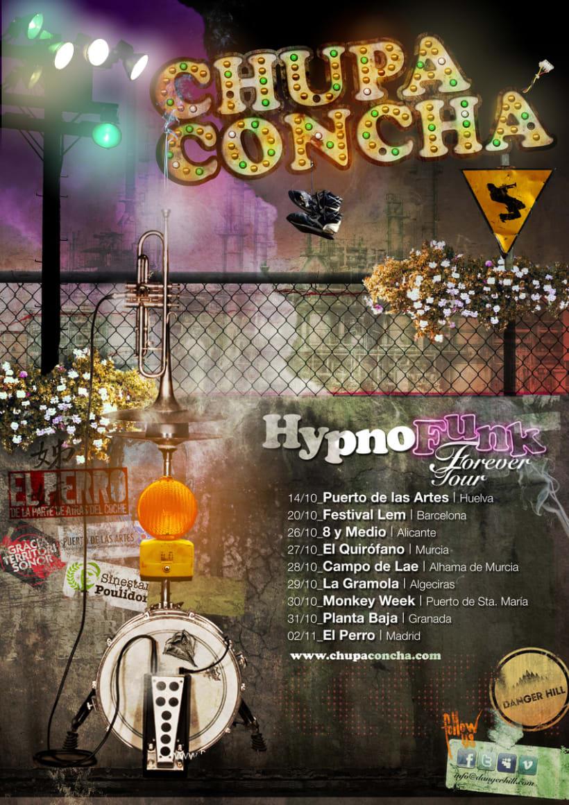 Chupaconcha flyer - Danger Hill -1
