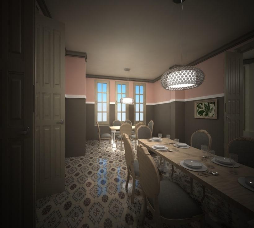 Restaurante en una antigua Casa Modernista 5