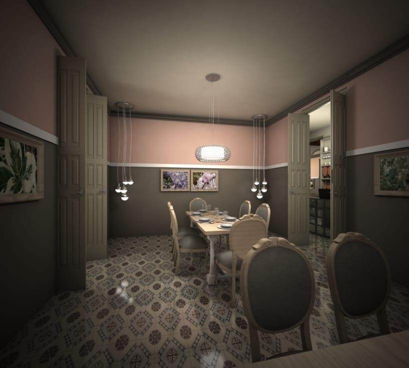 Restaurante en una antigua Casa Modernista 4