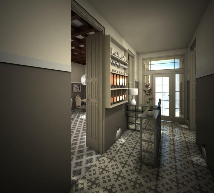 Restaurante en una antigua Casa Modernista 0