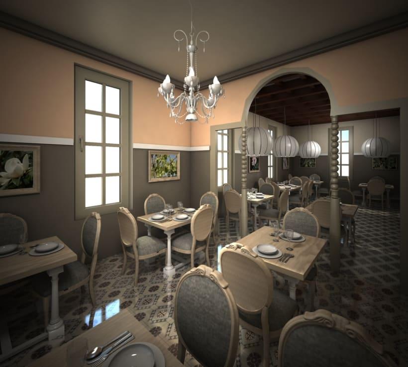 Restaurante en una antigua Casa Modernista 3
