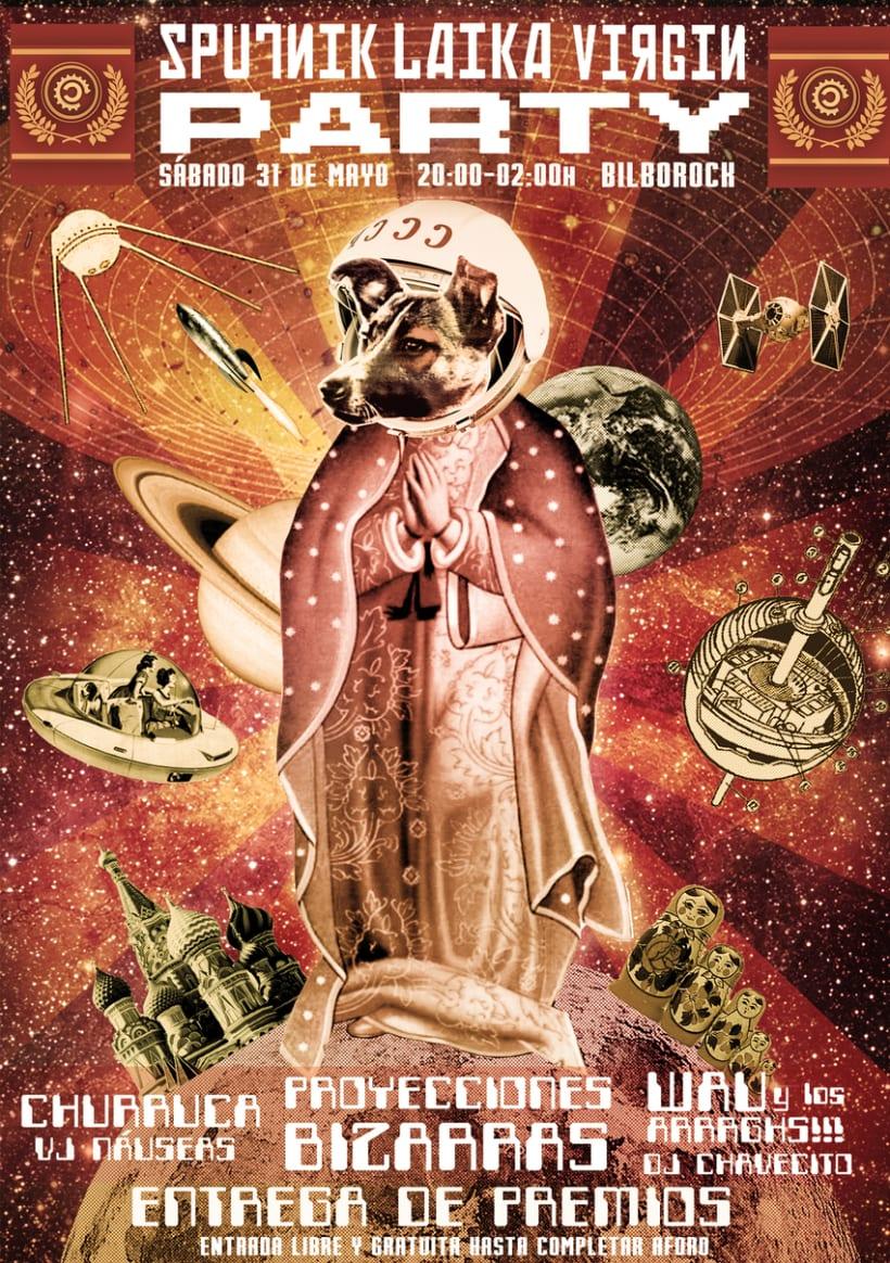 Sputnik Laika Virgin Party (2014) 0