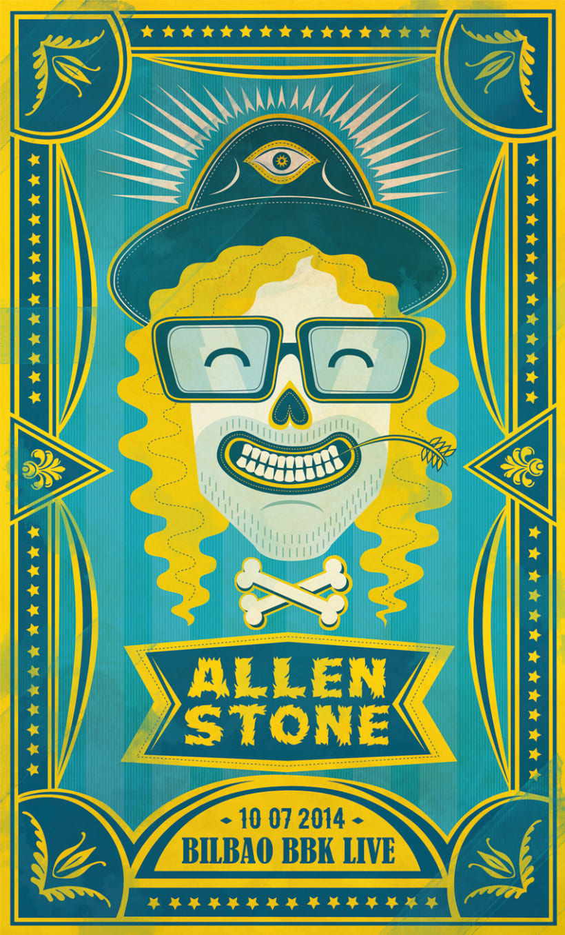 Allen Stone, Printing Hop! (2014) 0