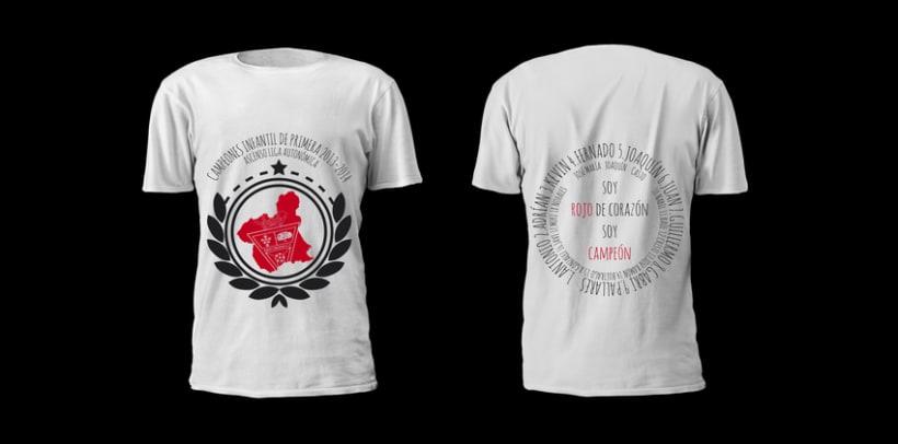 Camiseta campeones/ Infantil C.F.Santomera Temp.2013/14 0
