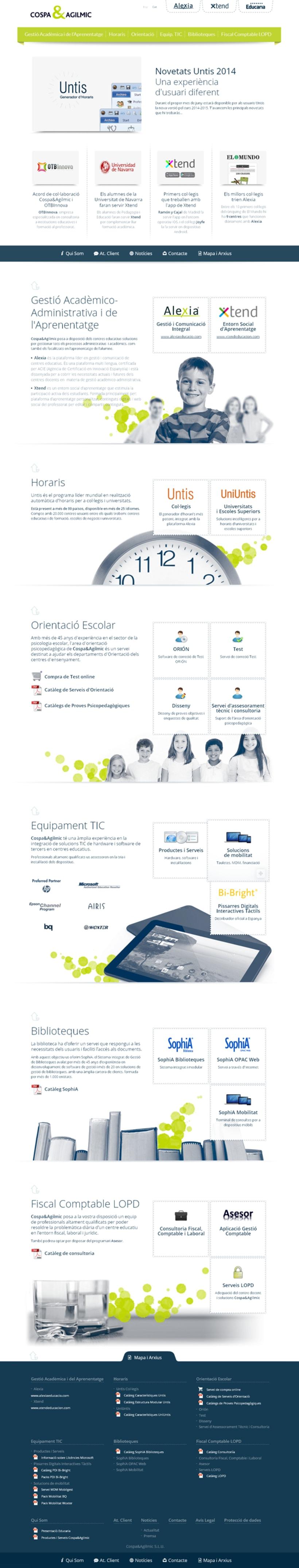 Website Cospa&Agilmic 0