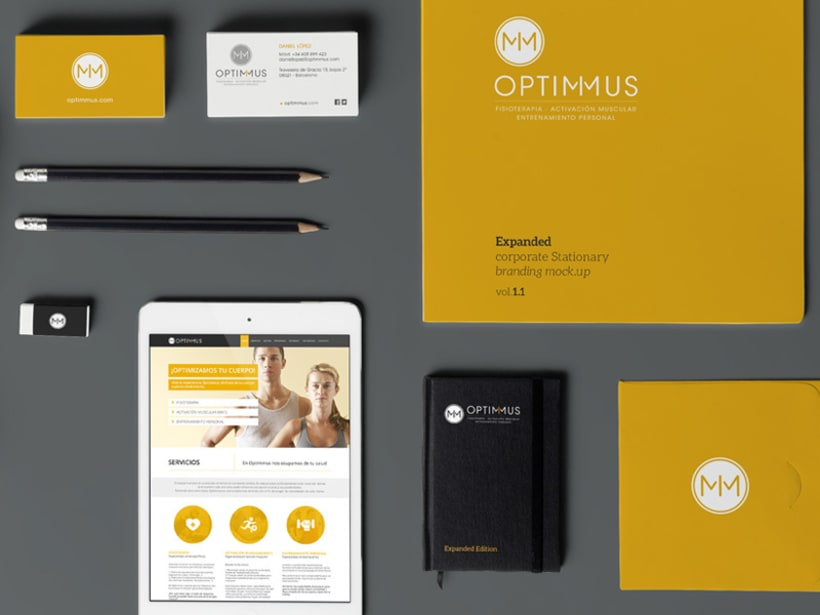 Optimmus - branding  4