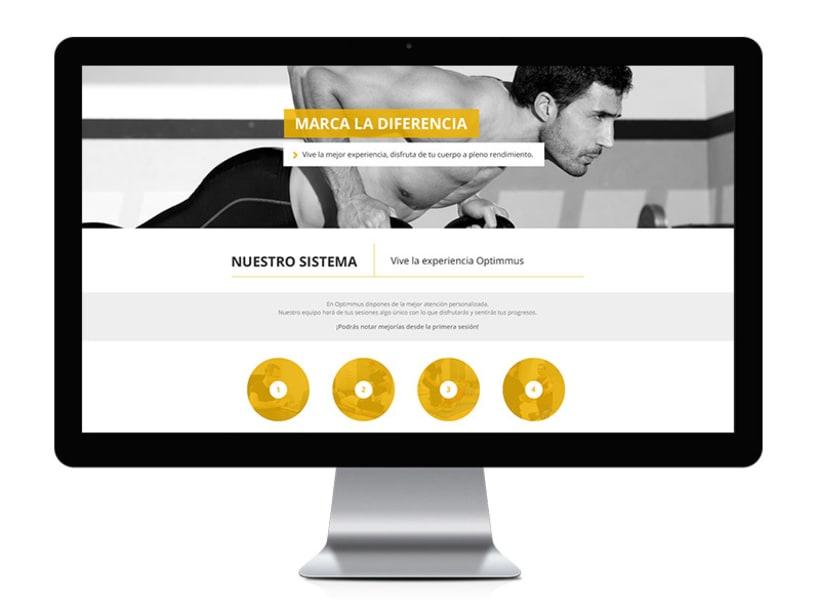Optimmus - diseño y desarrollo web 1