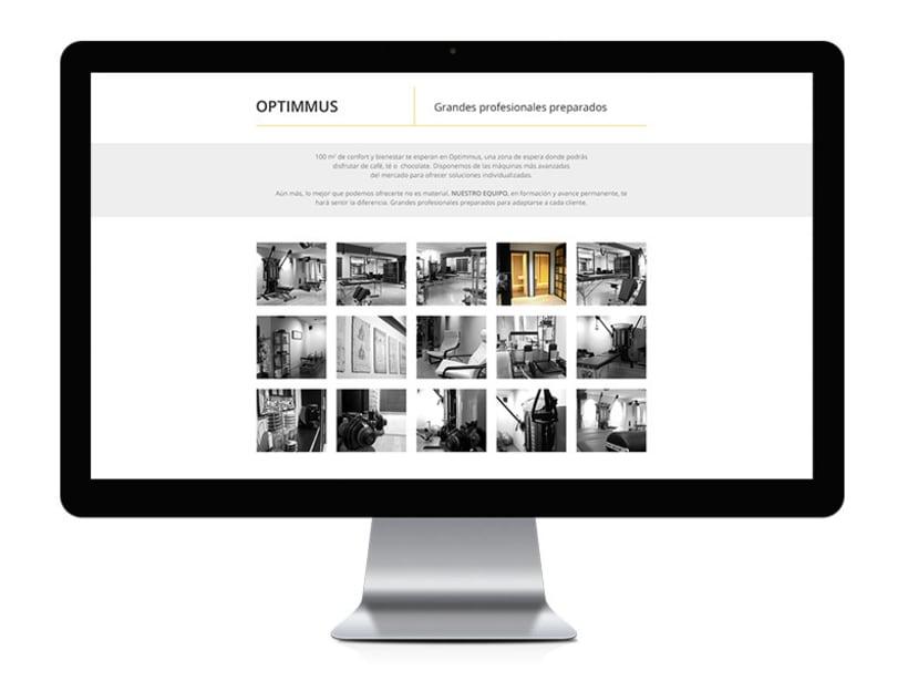 Optimmus - diseño y desarrollo web 3