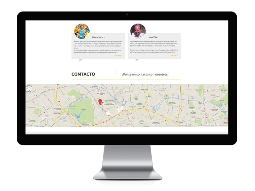 Optimmus - diseño y desarrollo web 4