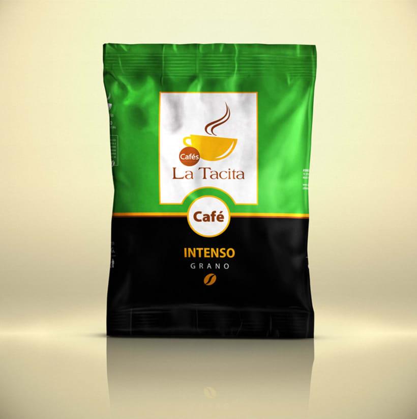 Cafés La Tacita - Packaging 0