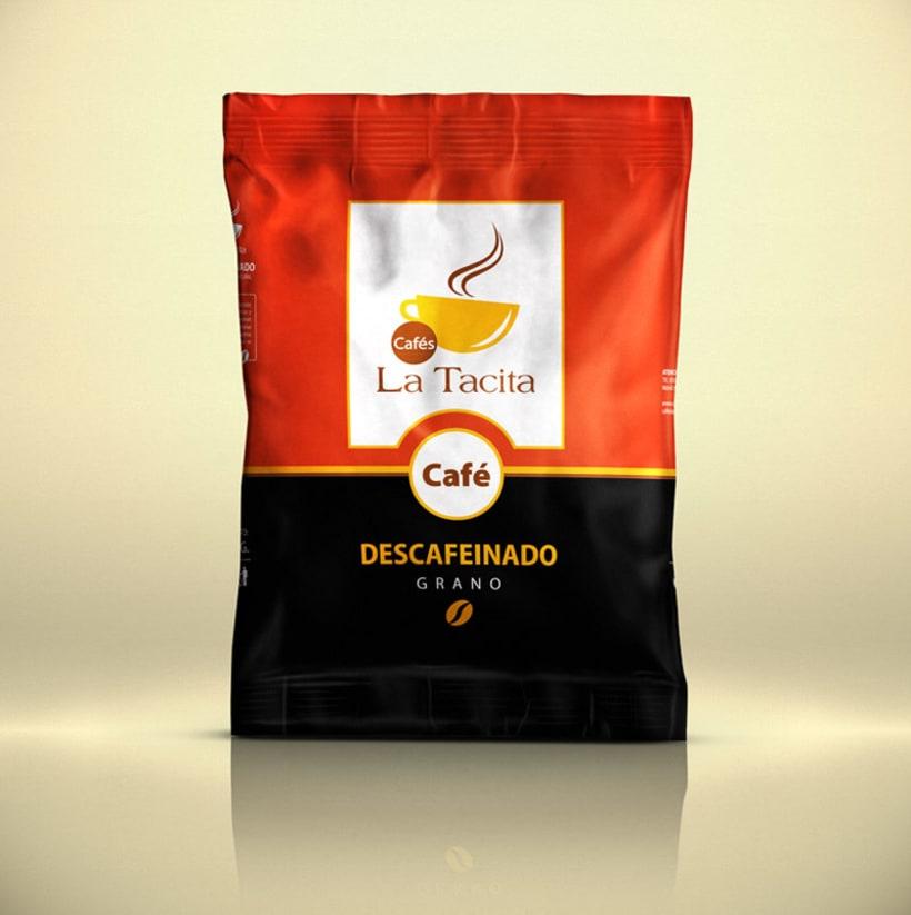 Cafés La Tacita - Packaging 2