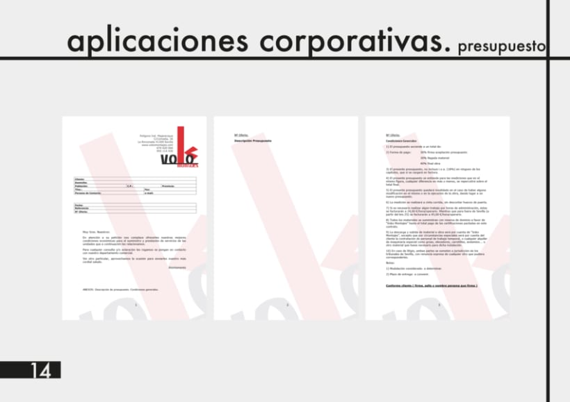 Manual Identidad Corporativa Voko Montajes 9