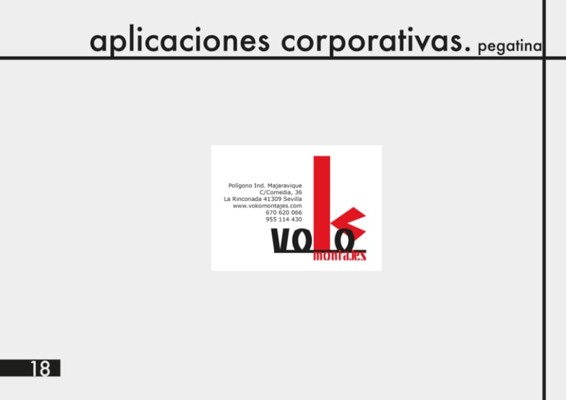 Manual Identidad Corporativa Voko Montajes 13