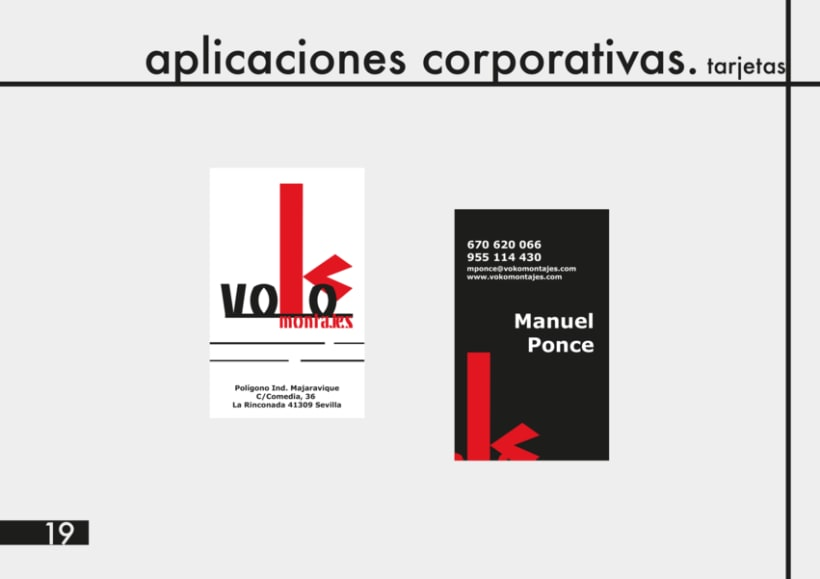 Manual Identidad Corporativa Voko Montajes 14