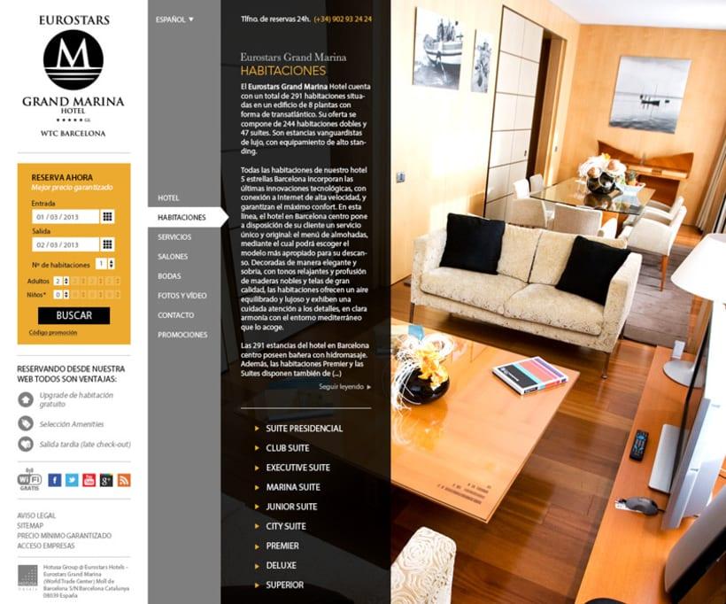 HOTUSA - Diseño y Desarrollo web 1