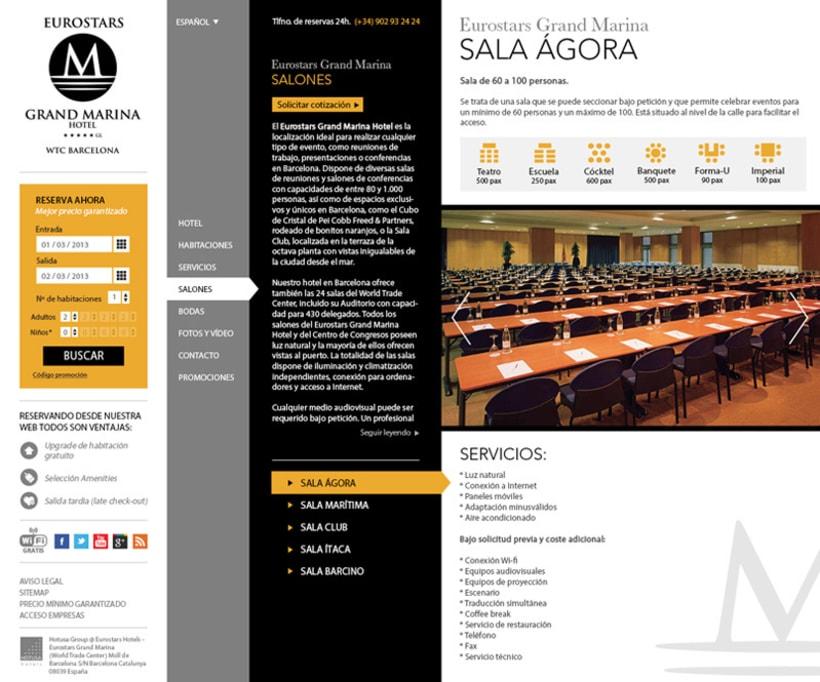 HOTUSA - Diseño y Desarrollo web 2