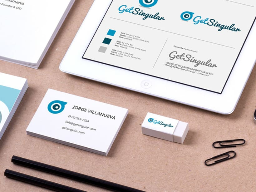 GET SINGULAR - Branding Identidad 2