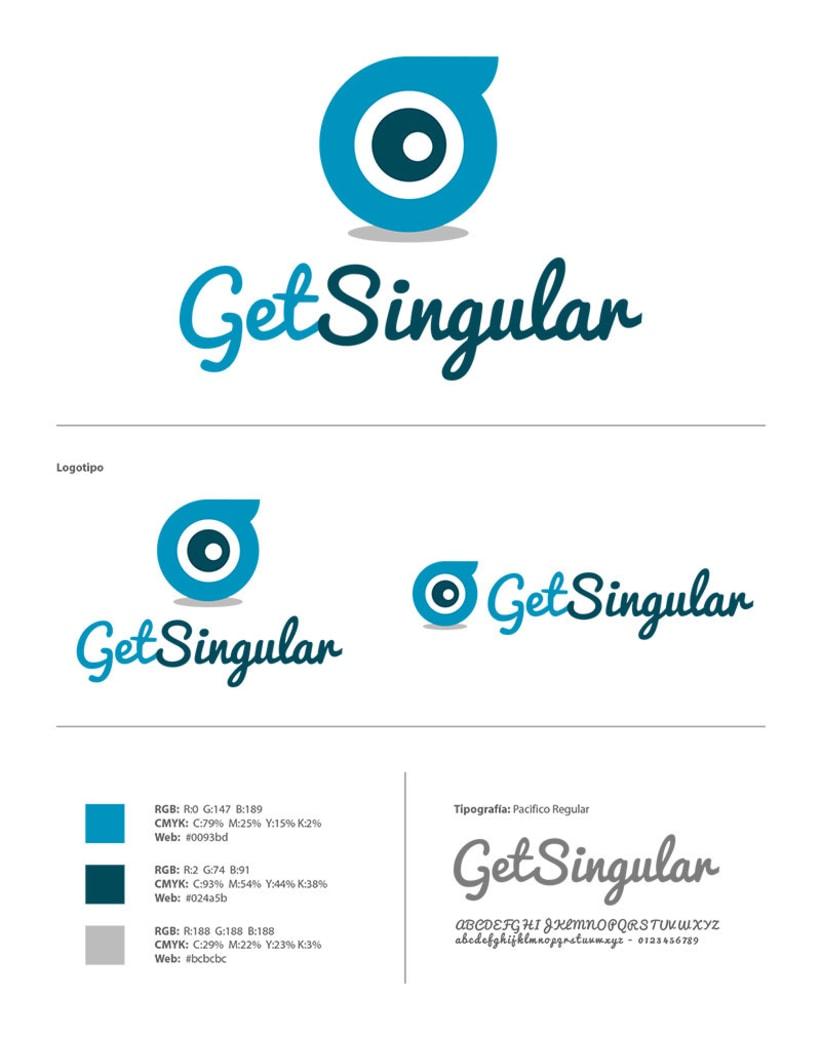 GET SINGULAR - Branding Identidad 3