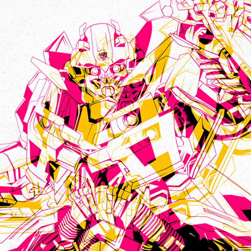 Bumblebee A3 Print 0