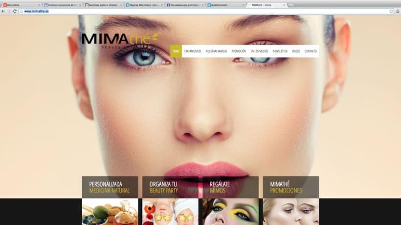 Diseño Web Mimathé -1