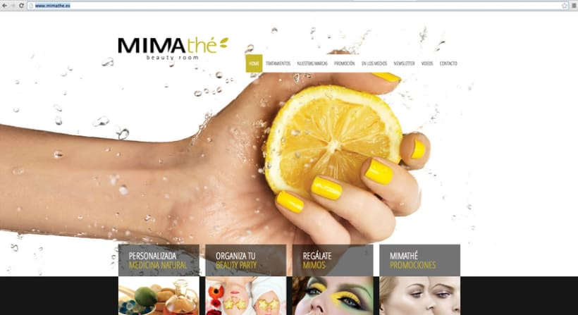 Diseño Web Mimathé 0