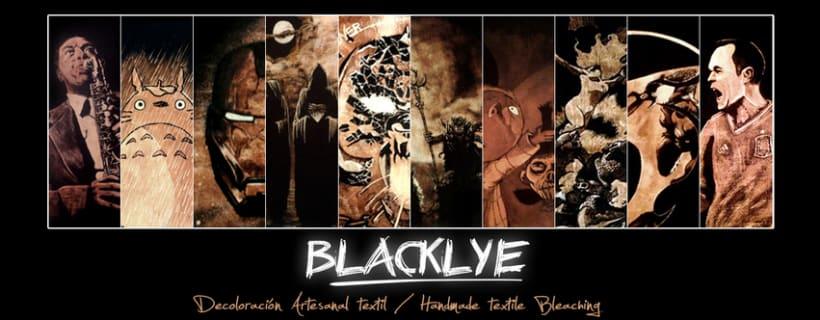 BLACKLYE. Decoloración Artesanal Textil. -1