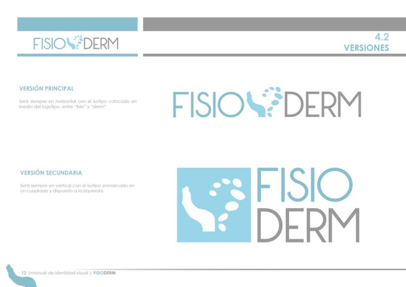 Branding FISIODERM 3